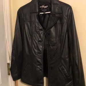 Wilson's leather jacket.